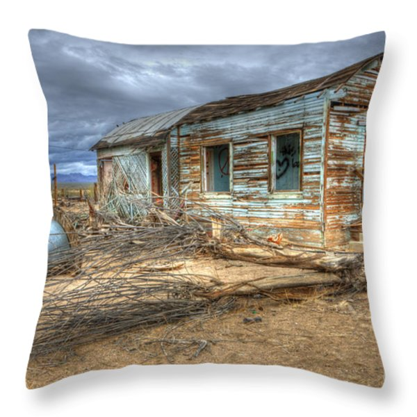 When Dreams End Throw Pillow by Bob Christopher