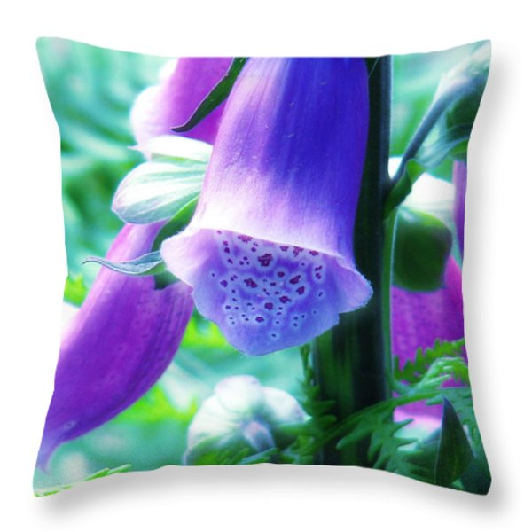 Where Fairies Live Throw Pillow by Rory Sagner