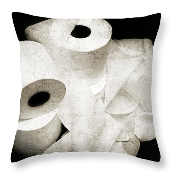 Where Is My Spare Roll Hc V3 Throw Pillow by Andee Design