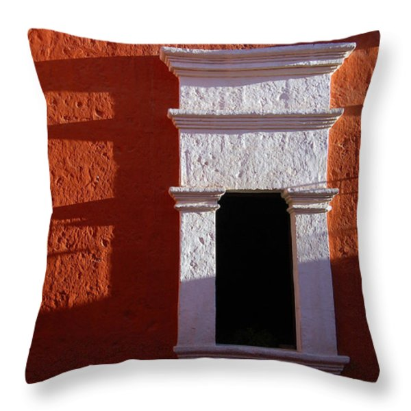 White window Throw Pillow by RicardMN Photography