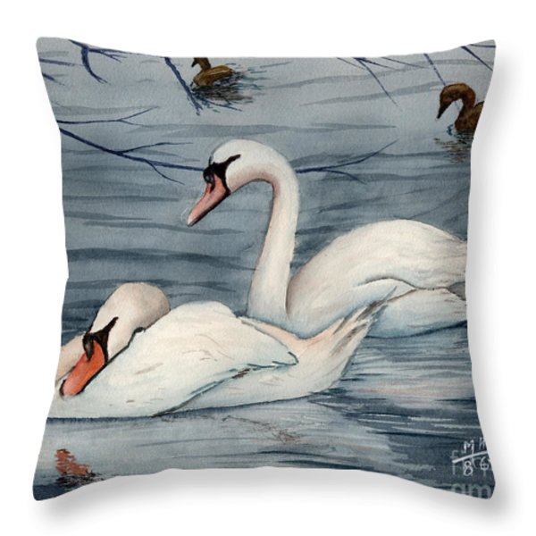 Who Is Minding The Kids Throw Pillow by Mohamed Hirji