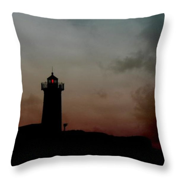 Wicked Dawn Throw Pillow by Lori Deiter