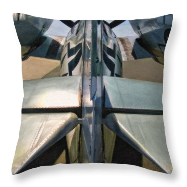 Wildcat Throw Pillow by Dale Jackson