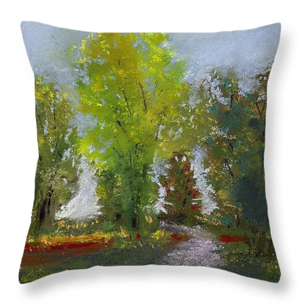 Wildlife Refuge Throw Pillow by David Patterson
