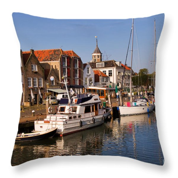 Willemstad Throw Pillow by Louise Heusinkveld