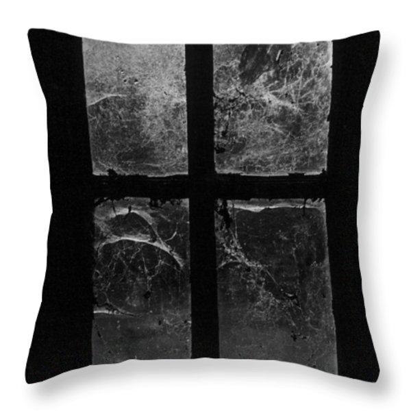Window At Castle Frankenstein Throw Pillow by Simon Marsden