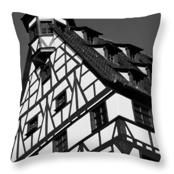 Windows ... Throw Pillow by Juergen Weiss