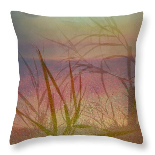Windswept  Throw Pillow by Shirley Sirois