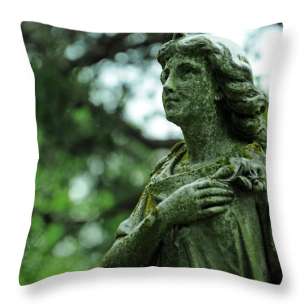 Wish Upon A Stardust Throw Pillow by Rebecca Sherman