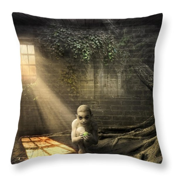 Wishing Play Room Throw Pillow by Svetlana Sewell