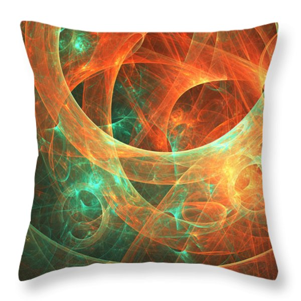 Within Throw Pillow by Lourry Legarde