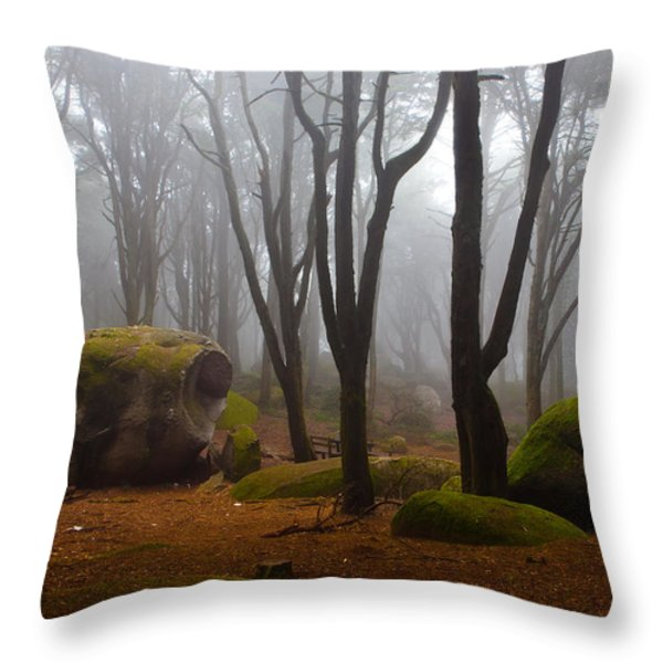 Wonderland Throw Pillow by Jorge Maia