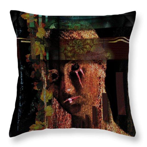 WORLDS APART - DURCH WELTEN GETRENNT Throw Pillow by Mimulux patricia no