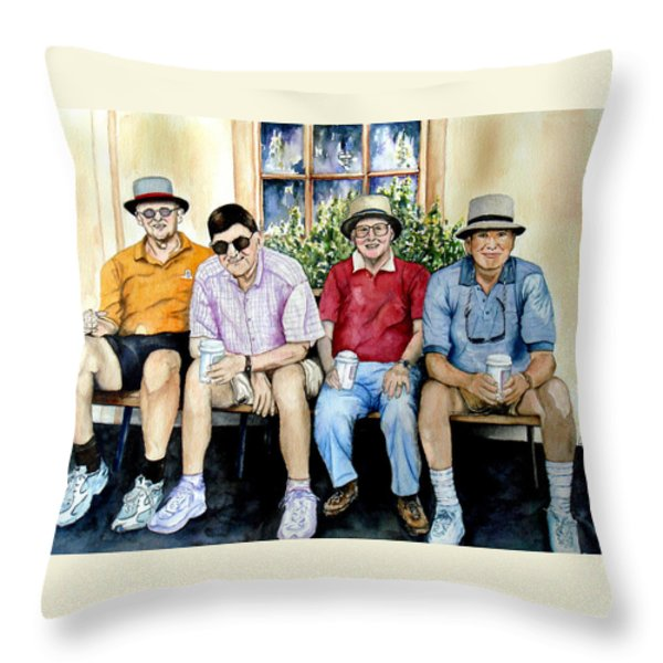Wwii Heroes Throw Pillow by Candy Yu