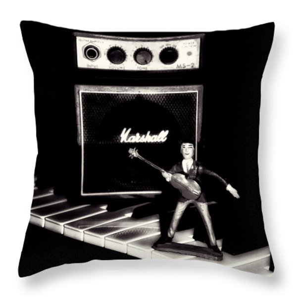 Yesterday - Beatle Paul Throw Pillow by Bill Cannon