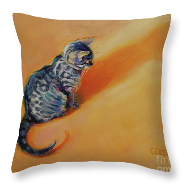 You Are My Sunshine Throw Pillow by Kimberly Santini
