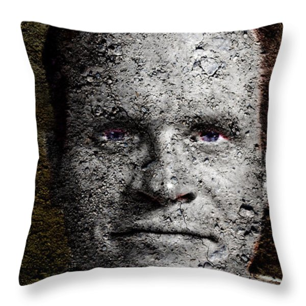 You Rock Throw Pillow by Christopher Gaston