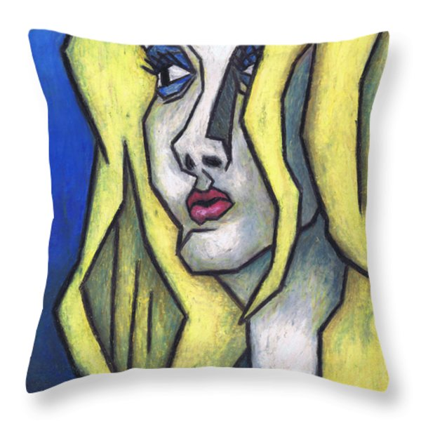 You're Beautiful Throw Pillow by Kamil Swiatek
