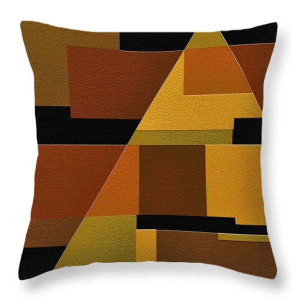 Zeal Throw Pillow by Ely Arsha