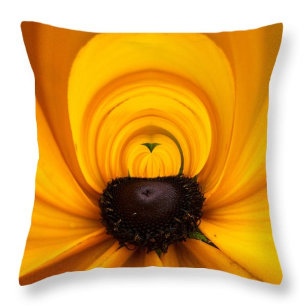 Yellow 2 Throw Pillow by Jouko Lehto