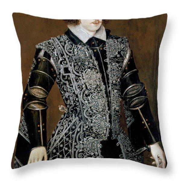 Sir Robert Devereux Throw Pillow by Granger
