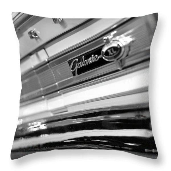 1964 Ford Galaxie 500 XL Throw Pillow by Gordon Dean II