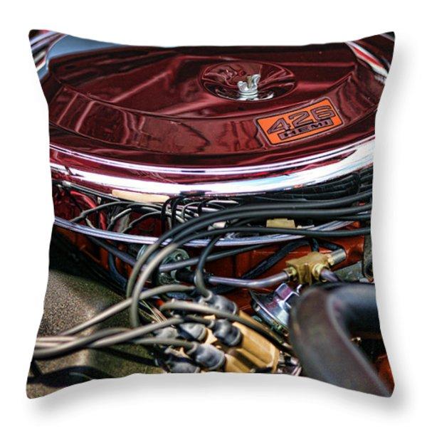 426 Hemi Throw Pillow by Gordon Dean II