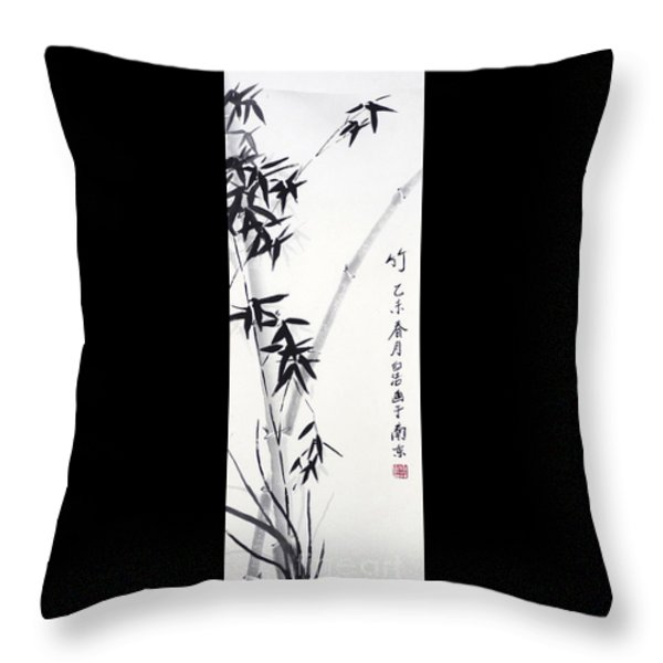 Bamboo - Chinese Style Painting by Birgit Moldenhauer
