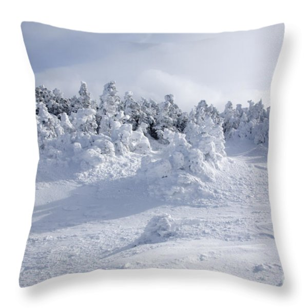 Carter Dome - White Mountains New Hampshire Usa Throw Pillow by Erin Paul Donovan