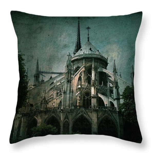 Citadel Throw Pillow by Andrew Paranavitana