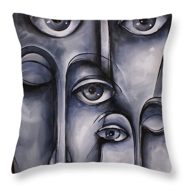 Dreamers Throw Pillow by Michael Lang