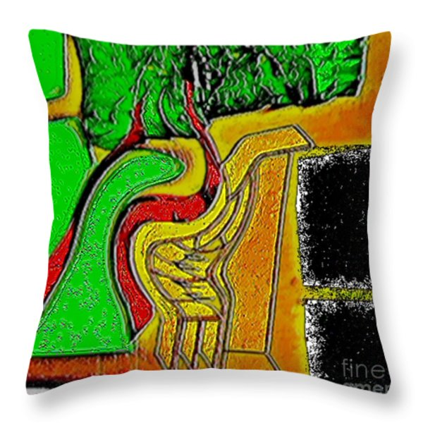 Enjoy The Fact That People Talk About You Throw Pillow by Contemporary Luxury Fine Art