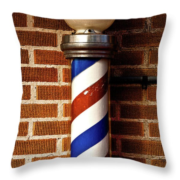 From The Past Throw Pillow by Christopher Holmes