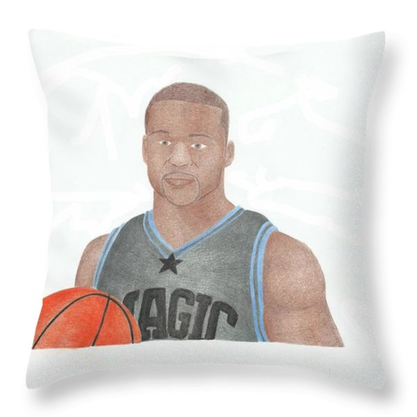 Jameer Nelson Throw Pillow by Toni Jaso
