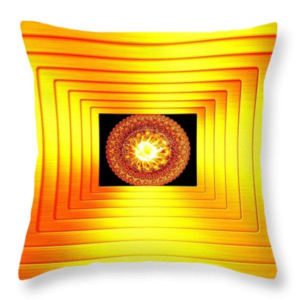 Luminous Energy 7 Throw Pillow by Will Borden