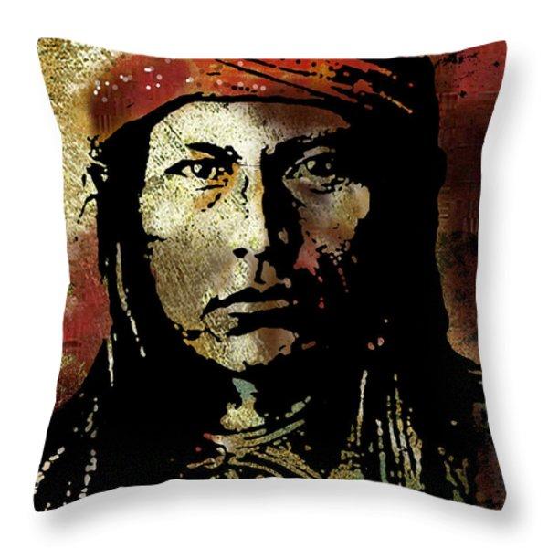 Naichez Throw Pillow by Paul Sachtleben