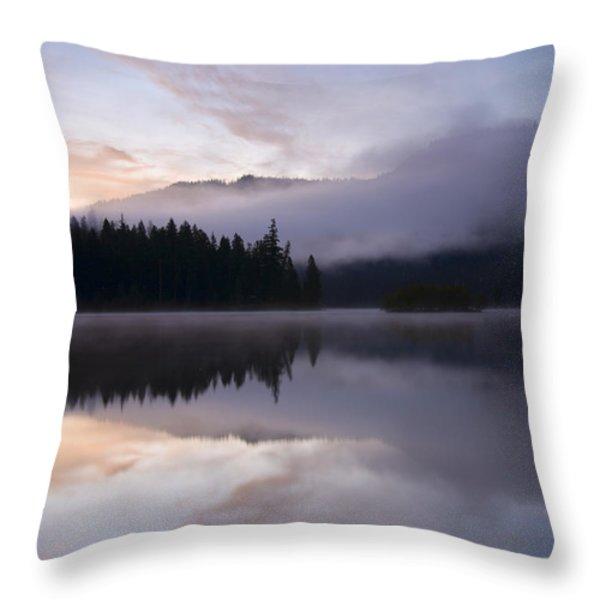 Pastel Dawn Throw Pillow by Mike  Dawson