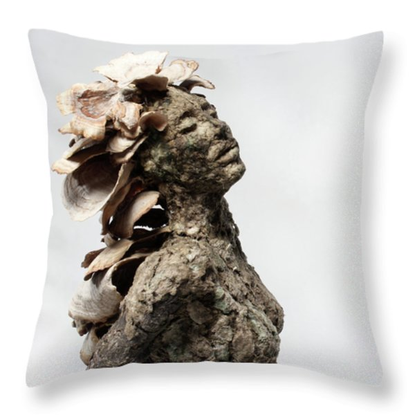 Placid Efflorescence Throw Pillow by Adam Long