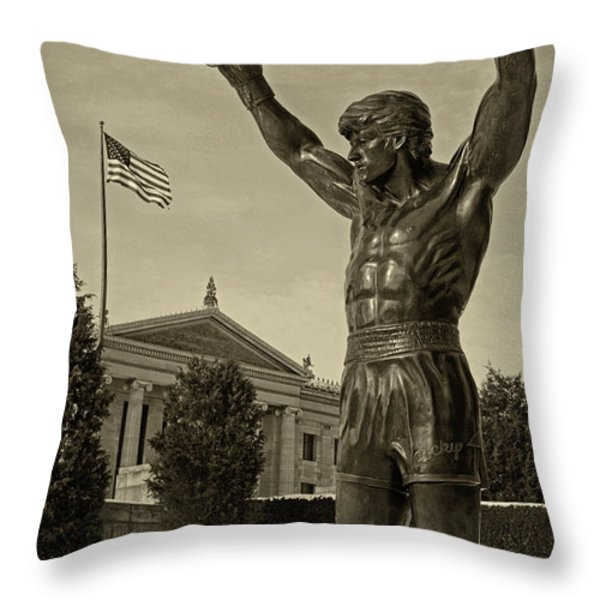 Rocky Throw Pillow by JACK PAOLINI