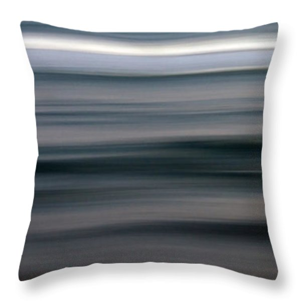 sea Throw Pillow by Stylianos Kleanthous