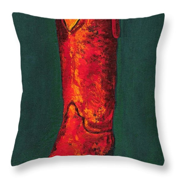 Singled Out Throw Pillow by Frances Marino