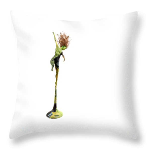Spread Wings Throw Pillow by Adam Long