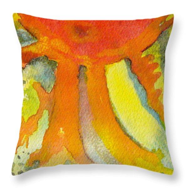 Sunny Throw Pillow by Carla Stein