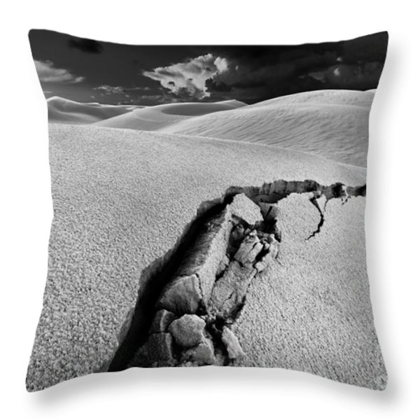 The Crack Of Dawn Throw Pillow by Julian Cook