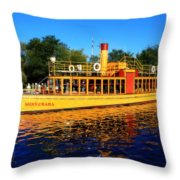 The Minnehaha Throw Pillow by Perry Webster