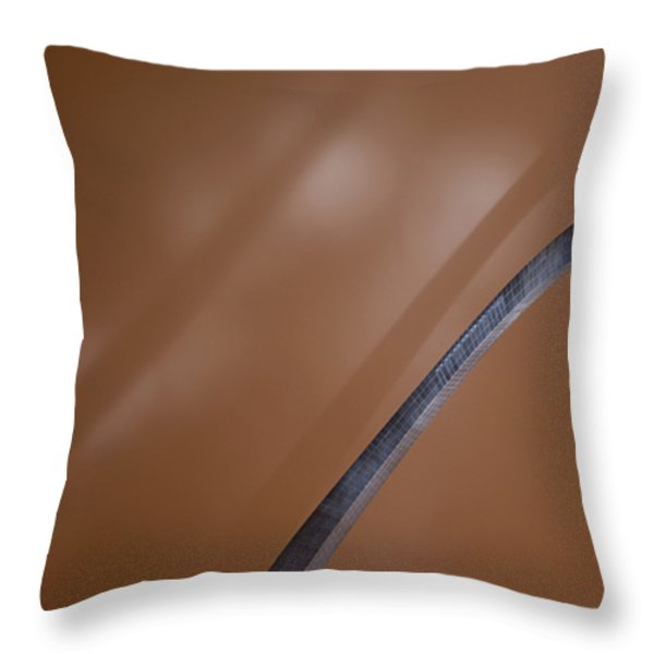 Theatrical Lights Give The Surface Throw Pillow by Jim Richardson