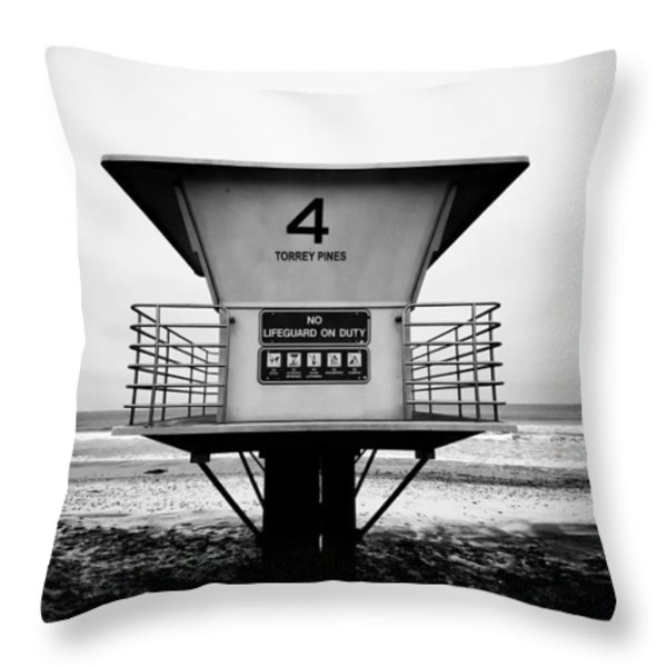 Tower 4 Throw Pillow by Tanya Harrison