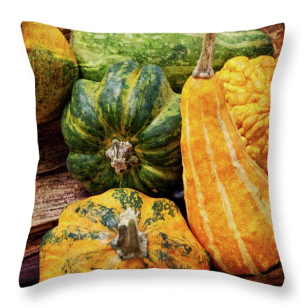 Vegetable Throw Pillow by Angela Doelling AD DESIGN Photo and PhotoArt