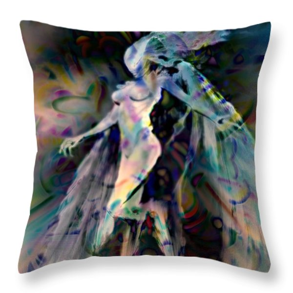 Virgo Throw Pillow by WBK