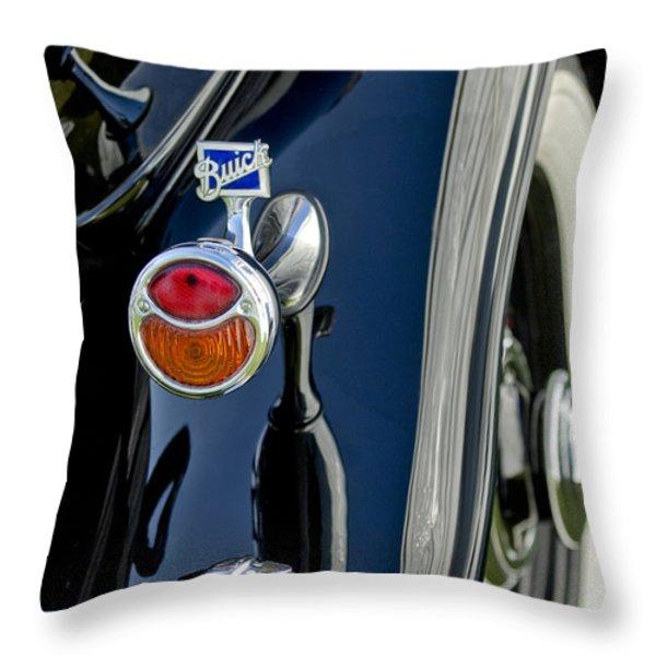 1932 Buick Series 60 Phaeton Taillight Throw Pillow by Jill Reger